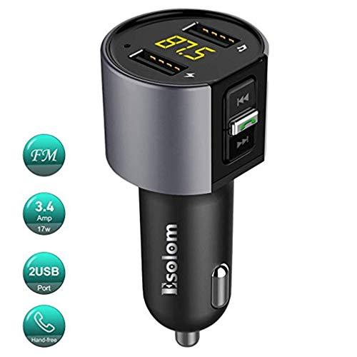 Auto Bluetooth Transmitter/USB Ladegerät/Car Kit/FM Transmitter/Modulator Audio/Musik Auto Mp3 / Car Wireless Charger/Sprachanrufe