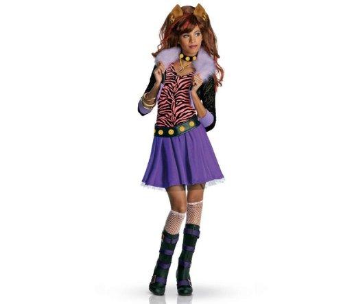 Monster High - Kinderkostüm Luxe Clawdeen Wolf - Größe 5-7 Jahre