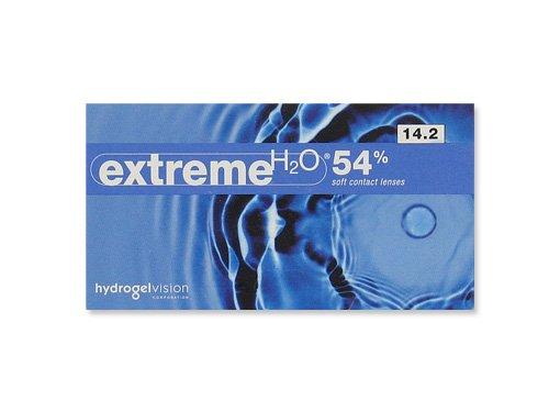 extreme H2O 54{1bf0b8c54926ebe0cb8c46dfc2f221cdc4ef9822d14c7c585243133ab75f170d} Monatslinsen weich, 6 Stück / BC 8.30 mm / DIA 13.60 mm / -3.25 Dioptrien