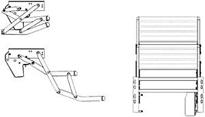 Thule Omnistor Step Double Step Electric 12 V 440 Aluminium Auto