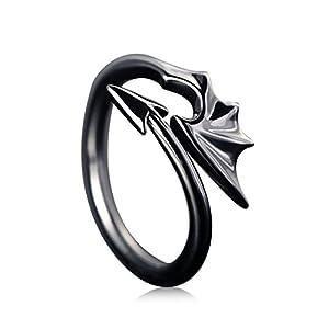 DALARAN Ring des Teufels Paar Matching Set Ehering Party Schmuck