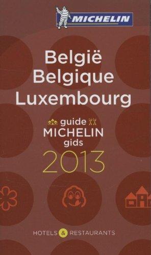 Guide Michelin / Michelin Gids - België, Belgique, Luxembourg 2013 (60017)