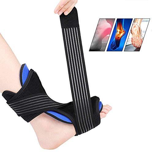 BD.Y Plantarfasziitis-Nachtschiene Verstellbarer Fußstiefel für beide Füße, Fußstütze Wirksame Linderung von Plantarfasziitis-Schmerzen, Verstauchung und Belastung des Fußrückens