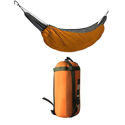 AWSAYS Outdoor Camping Und Freizeit HäNgematte Winter Einzelne HäNgematte Warme Abdeckung Winddichte Und Warme Isolierung BaumwollhäNgematte
