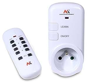 Maclean MCE26 Prise de courant prise électrique douille intérieure commandé à distance telecommande