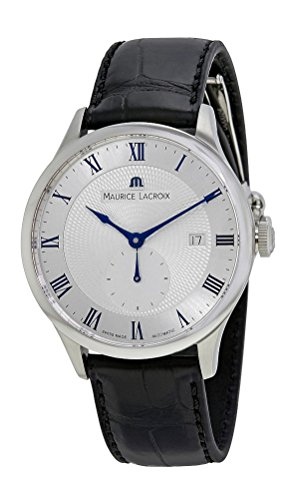 Maurice Lacroix Masterpiece Small Second Automatic Mens Strap Watch Date...