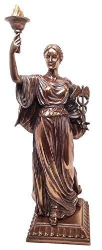 Ebros Griechisch Römischen Göttin der Gesundheit und Medizin HYGIEA Statue Hygeia Figur Tochter des Asklepios Espen-für Ärzte Ärzte und Health Care Geschrieben