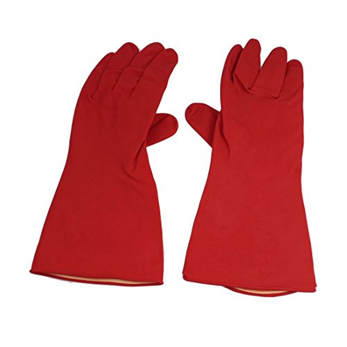 sourcingmap-118-inch-latex-rubber-non-slip-household-clean-wash-gloves-red