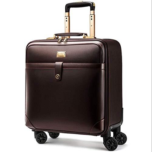 QWW 4-Rollen-Laptoptasche Executive Business Bag Koffer für Mobile Bürokabinen - Für Easyjet zugelassen -