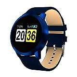 Ears Health Fitness SmartWatch Mehrere Modi Übung Herzfrequenz Schrittzähler Uhr Intelligente sockenuhr Fitness Tracker socken Sport Uhr mit Kompatibel mit Android Smartphone (Blau)