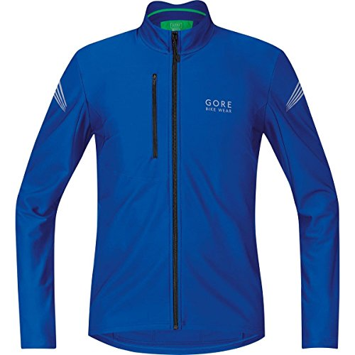 Gore Bike Wear Element Thermo - Maillot de ciclismo para hombre, color azul (brilliant blue), talla S