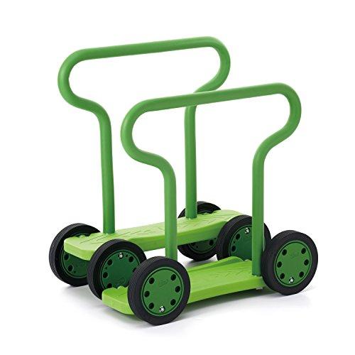 Weplay Twin Walker, Doppel Pedal Roller Stepper grün