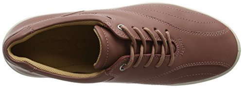 Hotter Tone EXF, Scarpe Stringate Oxford Donna Pink (Salmon)