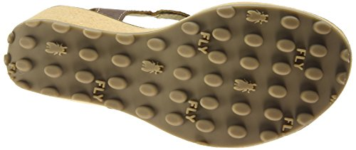 Fly London  Gold, Sandales femme Marron (Sebta Tan)