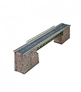 Keranova keranova380Escala 1: 87Clever Papel Railway Bridge 3D Puzzle