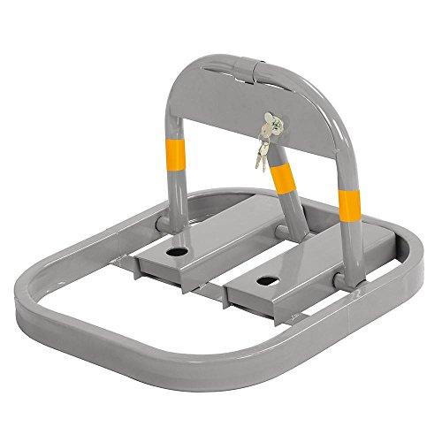 Preisvergleich Produktbild Yaheetech Parkplatzsperre Parkplatzbügel Parksperre Sperrbügel klappbar inkl. 3 Schlüssel