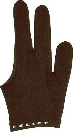 "Billard-Handschuh ""FELICE"", schwarz, beidhändig"