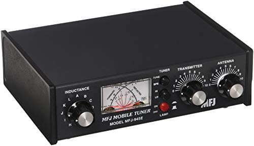 HF Antenna Tuner for Amateur Radio Tranceivers - 300W 1 8-60Mhz - MFJ-945E