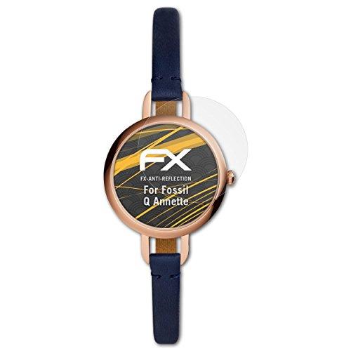 atFoliX Pellicola Protettiva per Fossil Q Annette Protezione Pellicola dello Schermo, antiriflesso e ammortizzante FX Pellicola...