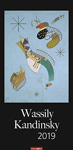 Wassily Kandinsky - Verikal-Kalender 2019 - Weingarten-Verlag - Kunstkalender - Wandkalender - 33 cm...