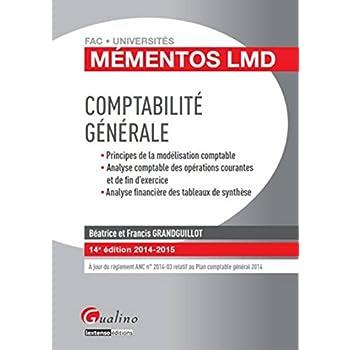 Mémentos LMD - Comptabilité générale 2014-2015, 14ème Ed