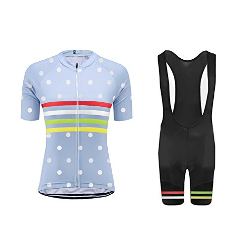 UGLYFROG #18-02 Bike Wear Ciclismo Mujer Maillots+Bib Tight Sets Seco y transpirable...