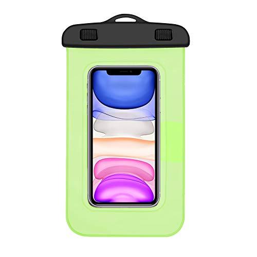 Funda Impermeable Xiaomi Mi A2 Lite Certificado IPX8 Bolsa para Xiaomi Mi A2 Lite Funda acuatica Xiaomi Mi A2 Lite Funda Sumergible Xiaomi Mi A2 Lite Funda Resistente al Agua Xiaomi Mi A2 Lite Verde