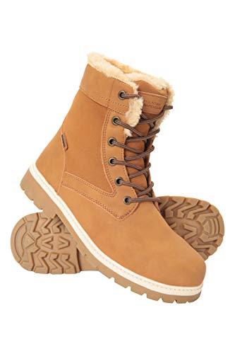 Mountain Warehouse Casual Womens Waterproof Hiking Boots - Faux Fur