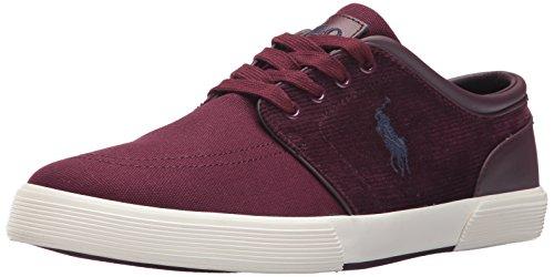 Polo Ralph Lauren Men's Faxon Low-Canvas/Corduroy Sneaker