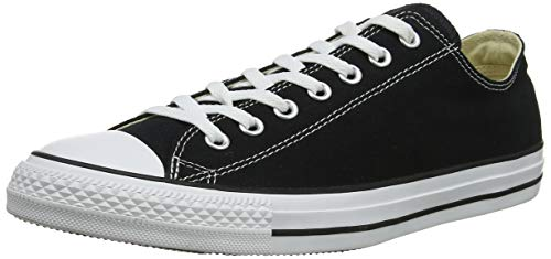 Converse M9166, Unisex-Adult's Sneakers, Black And White (Black (Black/White), 9.5 UK (43 EU)