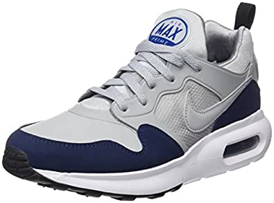 Nike Men's Air Max Prime Sl Running Shoes, Wolf Grey-Black