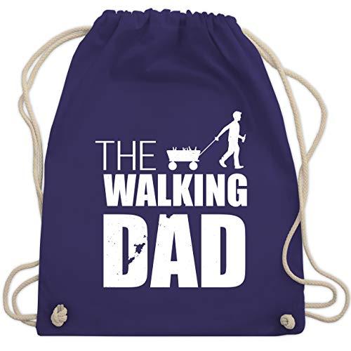 Vatertag - The Walking Dad Vatertag weiß - Unisize - Lila - WM110 - Turnbeutel & Gym Bag (Für Frauen Zombie-outfits)