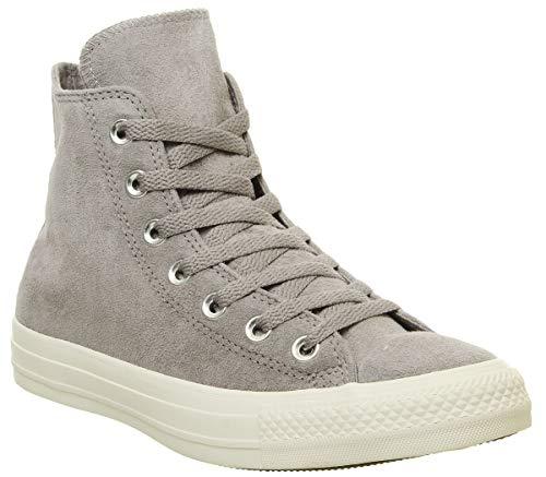 Converse 553440C, Unisex Erwachsene Kurzschaft Stiefel, Grau - Mercury Grey White Stud Exclusive - Größe: 36.5 EU