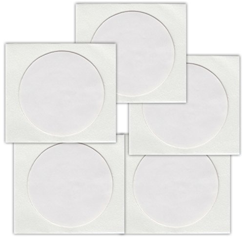 5 NFC Tags Sticker NTAG216 | 888 Byte | 25mm | weiss