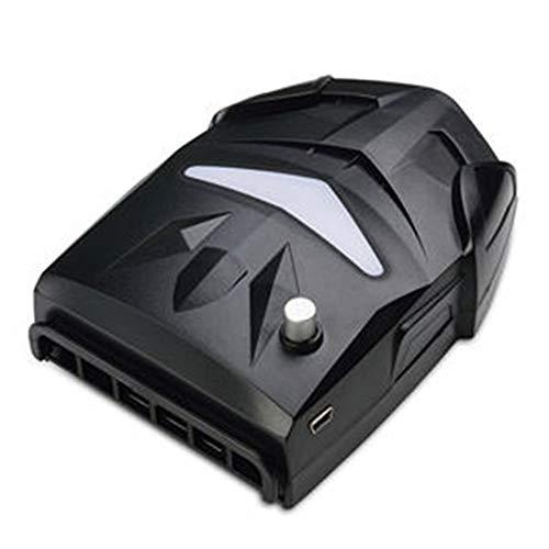 Zibofugu Tragbarer Laptop-Kühler Luftsauger Vakuum Lüfter Kühlung Gaming CPU-Kühler Energiesparend für Notebook-Laptop -