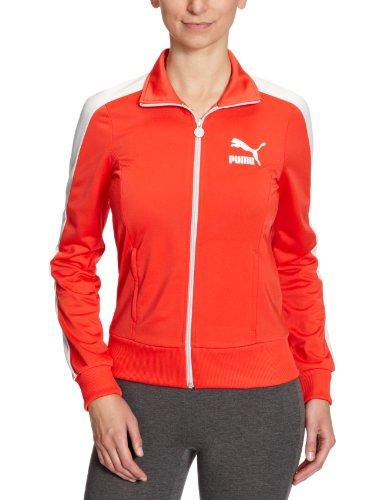 Puma Veste Heroes T7 Track pour femme Rouge