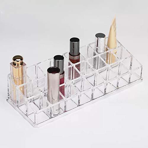 Carriea Acryl Lippenstift Makeup Organizer | 24 Plätze