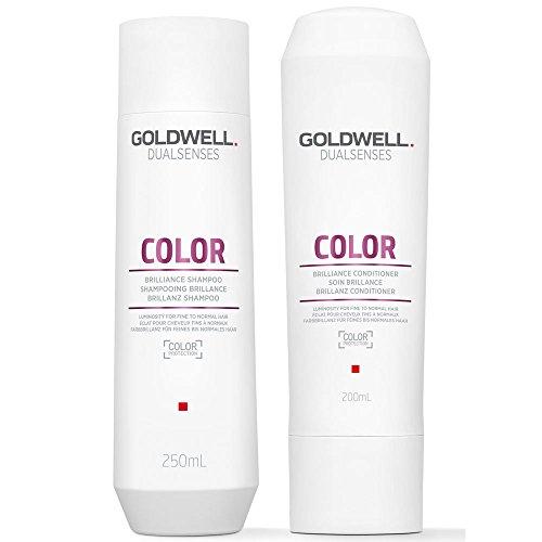 Goldwell DualSenses Color Brilliance Shampoo 250ml und Conditioner 200ml