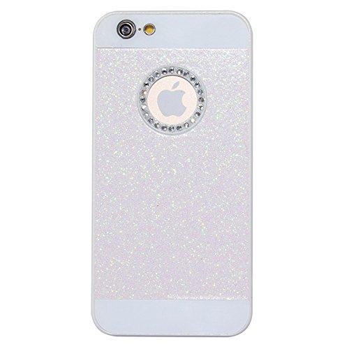 BING Für IPhone 6 Plus / 6S Plus, UV Shimmering Pulver Diamant-verkrustet Schutzmaßnahmen harten Fall BING ( Color : Magenta ) Pink