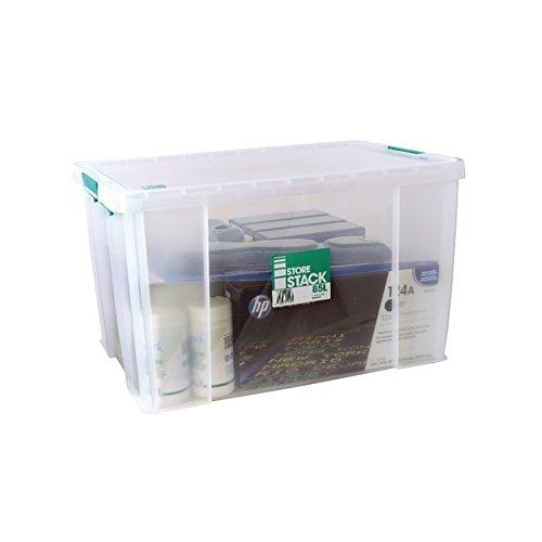 STORESTACK RB11090 Box, 85 L, Width 660 mm x Diameter 440 mm x Height 390 mm Test