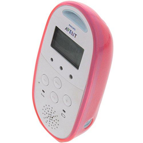 Tasche für Philips Avent SCD560/00 Babyphone Gummi TPU Schutz Hülle pink