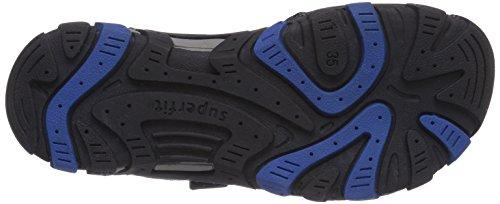 Superfit  HIKE, Sandales pour garçon Bleu - Blau (BLUET KOMBI 85)
