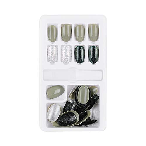 Cuteelf Fingernägel Zum Aufkleben,Falsche Nägel,Fertige Nagelpflaster,30Pcs Boxed,Removable,Wiederholte Verwendung Von Fake Nail,Patches Nail Sticker Für Frauen Mädchen