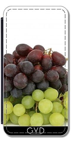 Etui à Rabat pour Huawei P8 Lite (ALE-L21) - Raisins Fruit Vert Faim by WonderfulDreamPicture