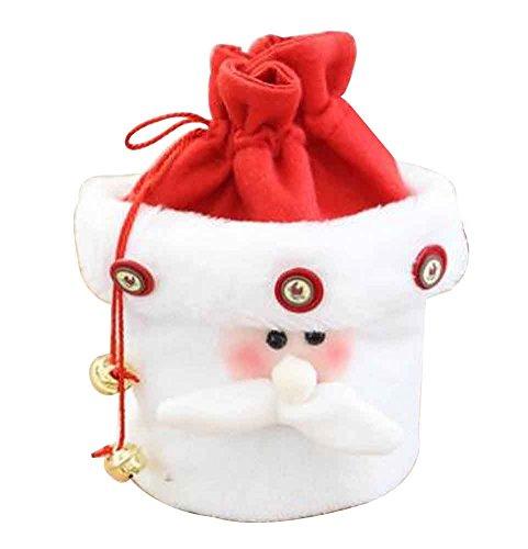 Decorazione natalizia sacchetto regalo natalizio sacchetto portadolci apple borsa [h]