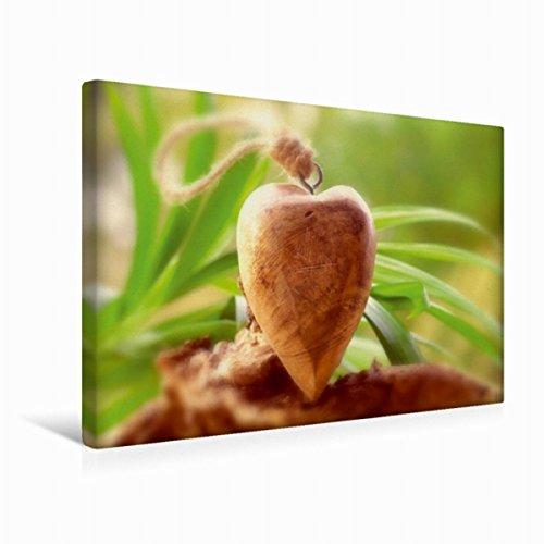 Calvendo Premium Textil-Leinwand 45 cm x 30 cm quer Herz Wellness | Wandbild, Bild auf Keilrahmen, Fertigbild auf echter Leinwand, Leinwanddruck Gesundheit Gesundheit
