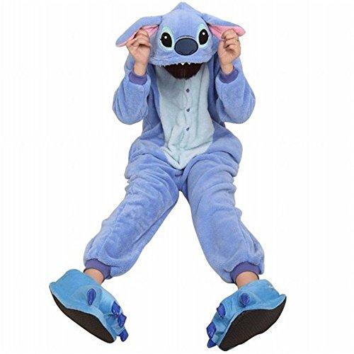 Amour-Sleepsuit Pyjamas Kostüm Cosplay Homeware Lounge Größe passt S/M/L/XL (s, Lilo & (Stitch Und Für Erwachsene Lilo Kostüme)