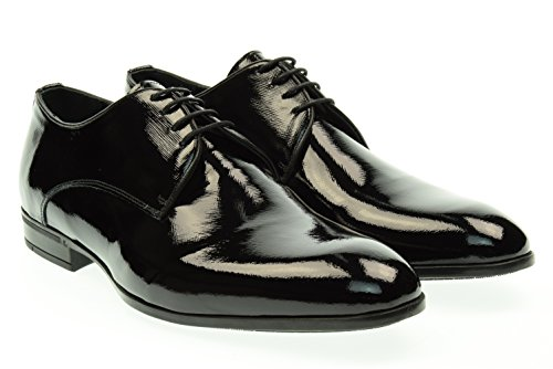 EVEET uomo scarpe eleganti 15908 SAFY 43 Nero
