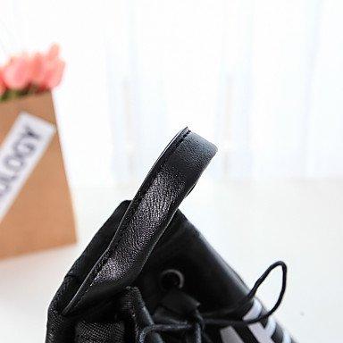 SUNNY KEY-Borsa a tracolla @ Donna borse benna PU (Poliuretano) Per tutte le stagioni Casual Altro A cordoncino Bianco Nero , black white