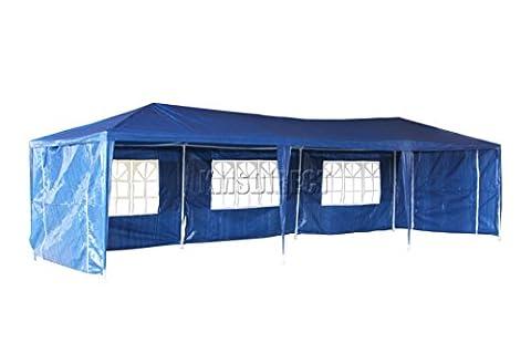FoxHunter Waterproof 3m x 9m PE Gazebo Marquee Awning Party
